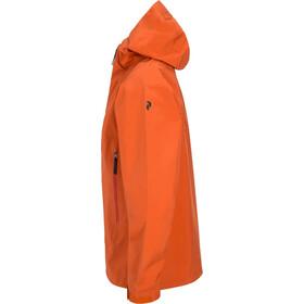 Peak Performance Northern Jacket Herr orange flow